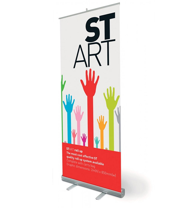 Roll Up Banner 60x180 cm